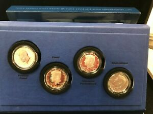 2014 KENNEDY HALF DOLLAR 50th ANNIVERSARY SILVER FOUR COIN SET in OGP