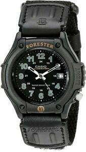 Casio Men's FT500WVB-1BV Electro-Luminescent Forester Analog Sport Watch
