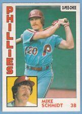 1984 O-Pee-Chee #361 Mike Schmidt Philadelphia Phillies