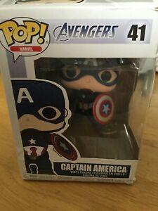 Funko Pop Vinyl Marvel - Captain America #41 Bobble Head 1997