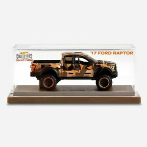 Hot Wheels 2021 RLC Special Edition '17 Ford F-150 Raptor only 25000 made