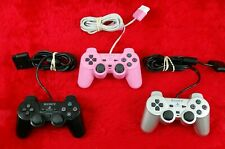 ps2 Controller BLACK/SILVER/PINK DUALSHOCK Sony Analog - Make Your Selection