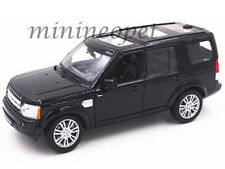 WELLY 24008 LAND ROVER DISCOVERY 4 SUV 1/24 DIECAST MODEL CAR BLACK