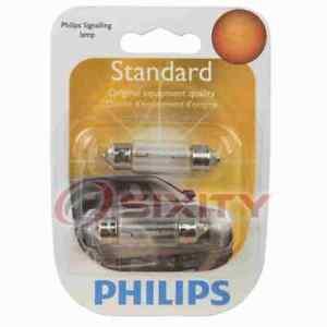 Philips License Plate Light Bulb for Mini Cooper Cooper Countryman 2002-2016 pb