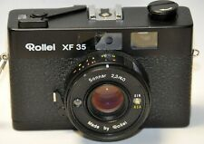 ROLLEI XF 35 OBJECTIF SONNAR 2.3/40 mm + ETUI CUIR D'ORIGINE