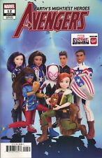 AVENGERS #12 MARVEL RISING ACTION DOLL HOMAGE VAR - MARVEL COMICS - H603