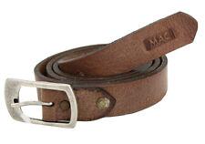 "Mac Jeans Uomo in Pelle Cintura men leather belt dimensioni 95 37"" Made in Germany NUOVO"