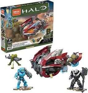 Mega Construx Halo Infinite Vehicle 2 in 1 Chopper Takedown