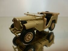 HAW AUTOPROM H351 GAZ 42 USSR CCCP JEEP - ARMY BEIGE 1:43 - EXCELLENT - 33/32