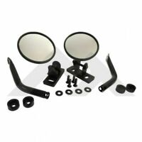 RT Off-Road RT30020 Quick Release Mirror Set (Round) For Jeep Wrangler CJ-7 CJ-8