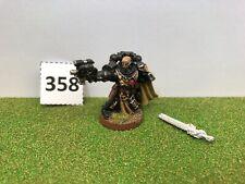 358. Games Workshop Citadel Warhammer 40k Black Templar Sword Brethren Metal