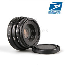 US Mini 25mm F1.8 APS-C For Television TV CCTV Lens 16mm C Mount Camera