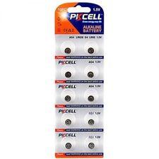 Blister X 10 Alkaline Knopfzellen der PKCell 1.5V AG4, LR626, G4, LR66, 377