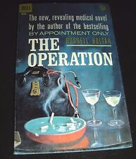 The Operation By Russell Boltar 1st Dell Printing Jan 1962 F171 Paperback