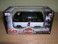 "Maisto Harley-Davidson Custom Volkswagen Van T1 ""Samba"" H-D Design, 1:64"