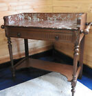 French Marble Topped Washstand