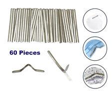 60 pcs Aluminium strips nose bridge wire adhesive wire clip for DIY craft making