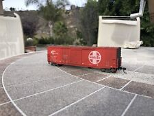 HO Details West 50' Combo Door Box Car Santa Fe/ATSF 49008 weathered