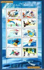 France Bloc N°76 Série Collection jeunesse Sports de Glisse 2004 Neuf Luxe