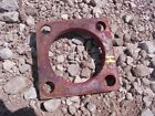 Farmall H IH tractor front pedestal to bolster cultivator spacer HARD TO FIND