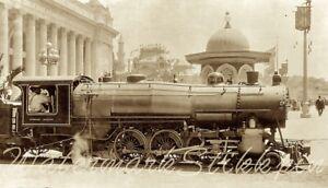 1915 photo Negative SAN Francisco tiny TRAIN Panama Pacific Exposition Railway