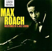 MAX ROACH - MILESTONES OF A JAZZ LEGEND   10 CD NEW!