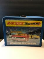 MATCHBOX LESNEY SUPERFAST 1970 48 CAR COLLECTOR'S CARRYING CASE Redline Era