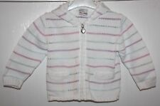 Girl's Next Striped Hoodie Age 12 - 18 months