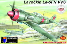 """Kovozavody Prostejov 1/72 Kit Modelo 7234 Lavochkin La-5fn """"Vvs"""""""