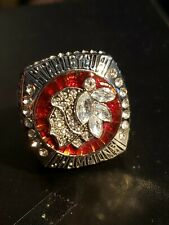 Stanley Cup World Champions CHICAGO BLACKHAWKS TOEWS Hockey Ring Size 11