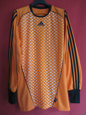 Maillot Football Orange Gardien Manche Longue Adidas vintage shirt - M