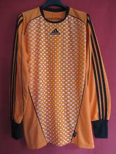 Camiseta De Fútbol Naranja Guardia Manga Larga Adidas vintage camisa - M
