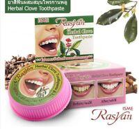 RASYAN ISME Herbal Clove Toothpaste Whitening Antibacterial 25g.