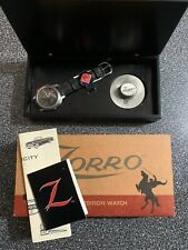 New Old Stock ZORRO Quartz Men's Watch by Fossil Limited Edition