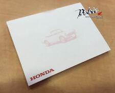 Genuine Honda Branded Merchandise Postit Post-It Post it Note Pad S600 Car Print