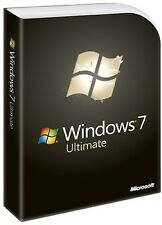 Microsoft Windows 7 Ultimate 64/32bit Genuine License Key Product Code