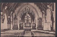Wales Postcard - Interior of St David's Church, Pantasaph  RS6468