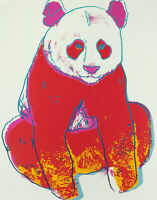 Giant Panda (Endangered Species) 1983 by Andy Warhol - Poster Wall Art