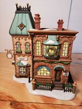 Thomas Mudge Timepieces 58307 Department 56 Dickens Village Mint In Original Box