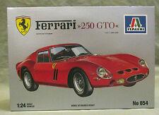 Vintage FERRARI 250 GTO 1/24 Scale MODEL CAR KIT 654 MINT IN BOX ITALERI TESTOR