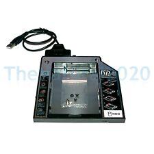 Ultrabay II Module Caddy Lenovo ThinkPad T510 T510i T520 T530 + USB-SATA-Kabel