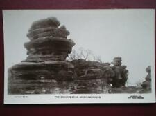 POSTCARD RP YORKSHIRE BRIMHAM ROCKS - THE EAGLES BEAK