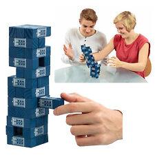 DOCTOR WHO TARDIS TUMBLING TOWER BLOCK GAME BRAND NEW GREAT GIFT