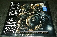 ICED EARTH-LIVE IN ANCIENT KOURION-2013 3xLP CLEAR VINYL-LIMITED TO 100-NEW