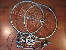 SHIMANO RSX A410 GROUP COMPLETE BUILD KIT 7 SPEED TRIPLE 3 X 7 WHEELS AND TIRES