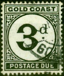 Gold Coast 1951 3d Black SGD6 Fine Used