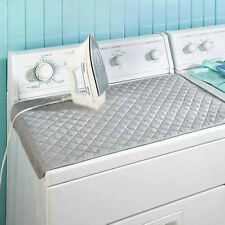 Magnetic Ironing Mat Laundry Pad Washer/Dryer Cover Board Heat Resistant Blanket