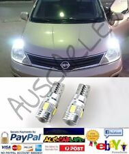 Range Rover 03-10 parkers 2x T10 w5w 7W SMD super white LED bulb globe canbus