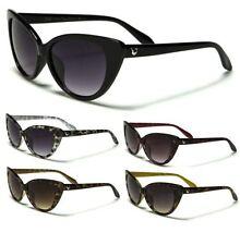 Gradient Cat Eye Plastic Frame 100% UVA & UVB Sunglasses for Women