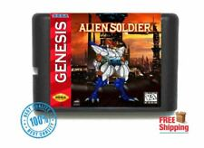 Alien Soldier for 16 bit Sega MD Mega Drive Game Console Genesis